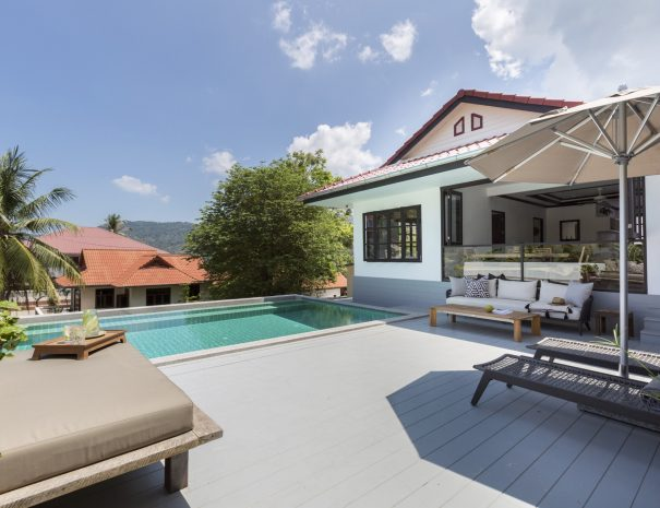 Villa Khamin, a 2 bedroom pool villa located in Bophut, Koh Samui, Thailand