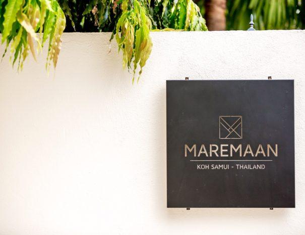1 Villa Maremaan - Logo wall