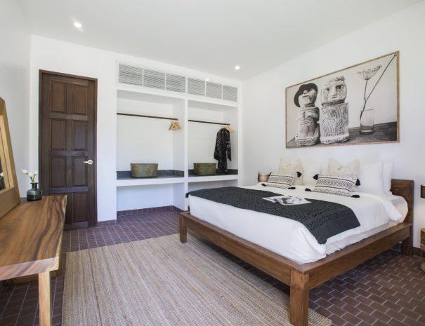 Bedroom at Villa Lemongrass, an 8 bedroom luxury garden villa located in Bophut, Koh Samui, Thailand
