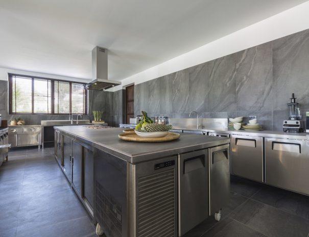 Kitchen at Villa Lemongrass, an 8 bedroom luxury garden villa located in Bophut, Koh Samui, Thailand