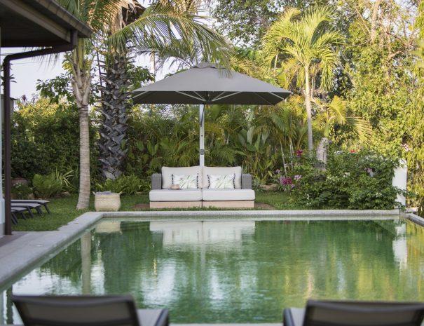 Swimming pool at Villa Lemongrass, an 8 bedroom luxury garden villa located in Bophut, Koh Samui, Thailand