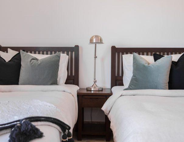 Bedroom at Villa Papaya, a 3 bedroom garden villa located in Bophut, Koh Samui