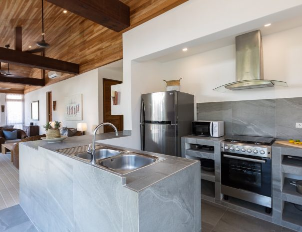 Kitchen at Villa Papaya, a 3 bedroom garden villa located in Bophut, Koh Samui