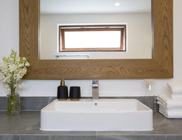 Bathroom at Papaya studio, a one bedroom studio with living, kitchen and bathroom located in Bophut, Koh Samui