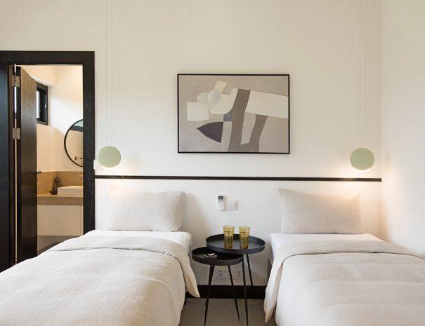 Villa A Maremaan - Bedroom 3 Twin 1 front