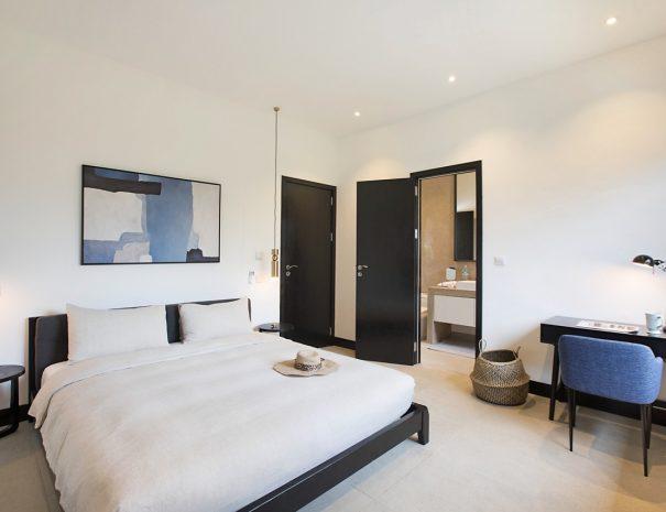 Villa A Maremaan - Bedroom 4 double 1 front