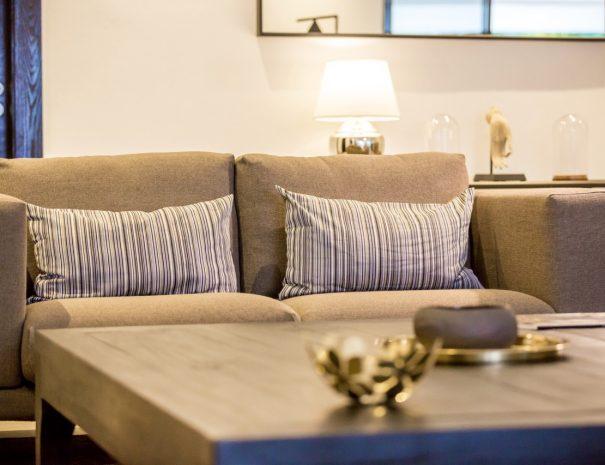 Villa A Maremaan - Living room sofa