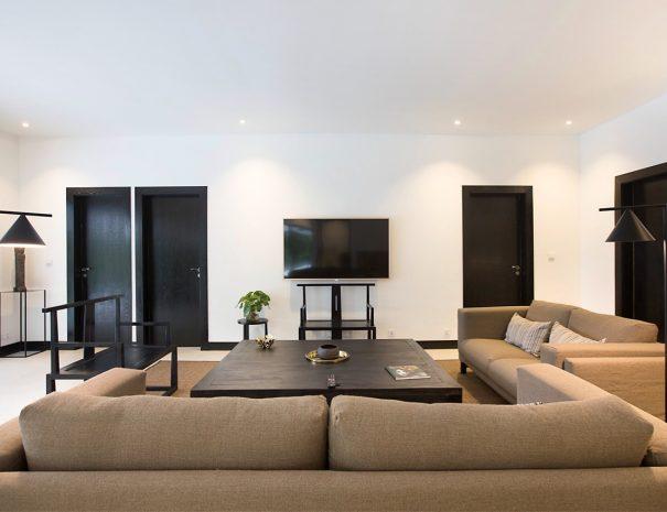 Villa A Maremaan - living room front view